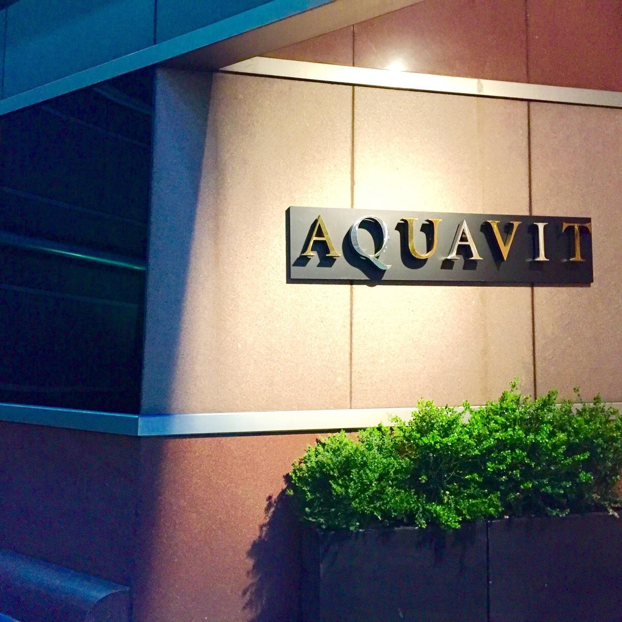 NYC – Aquavit**