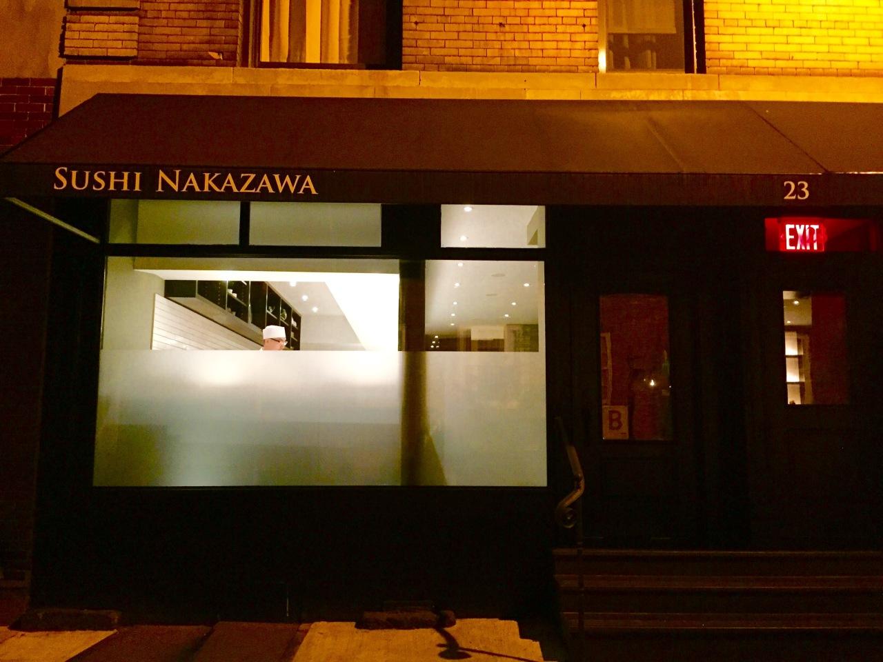 NYC – SushiNakazawa