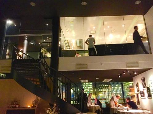 kitchen on second floor