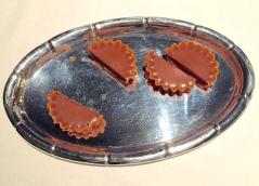 brown cheese tart