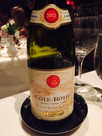 E. Guigal, Cote Rotie, Brune et Blonde, Rhone 2012