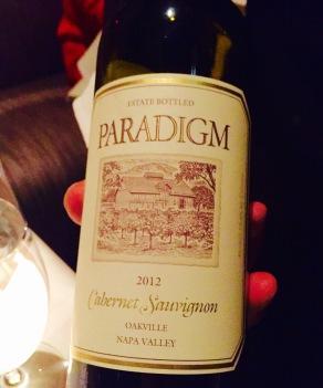 Paradigm, Cabernet Sauvignon, Oakville 2012