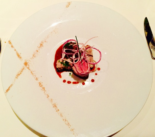 'veal' - three-ways with cipollini onions and honey-onion gastrique