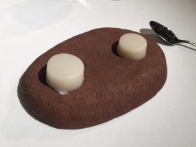 arroz madre cocido con caviar
