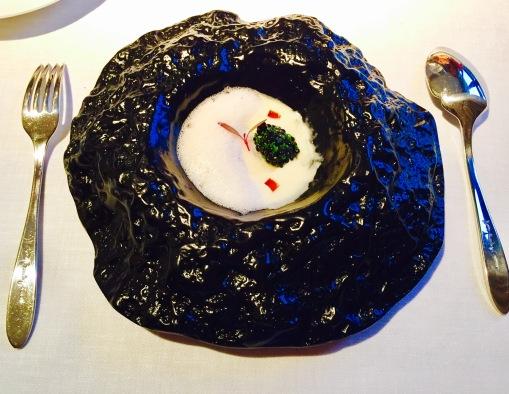 caviar and turnips