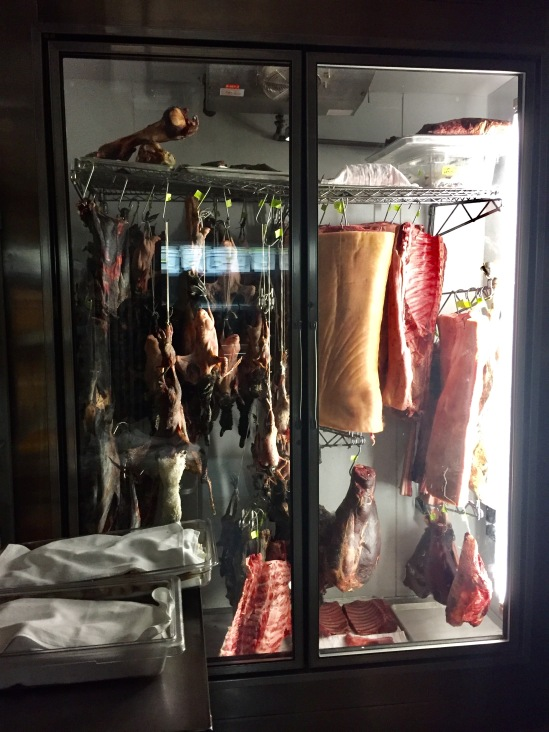 meat aging room