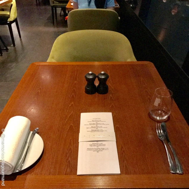 Table set at Dinner by Heston