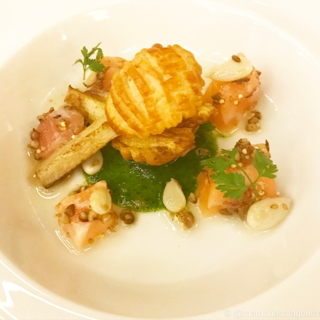 Tart of Warm White Asparagus from Provence
