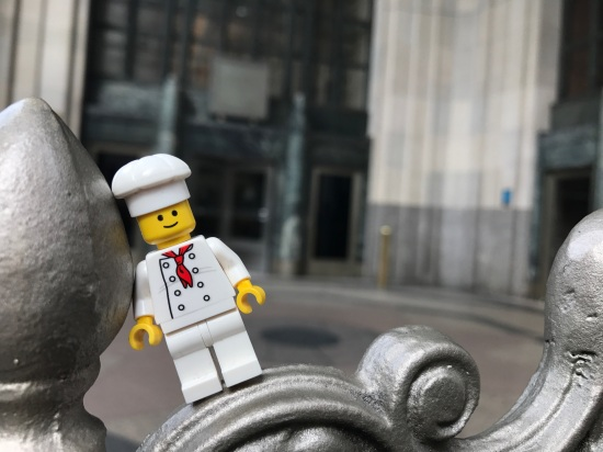 minichef posing outside EMP