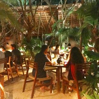dining room at Noma Mexico