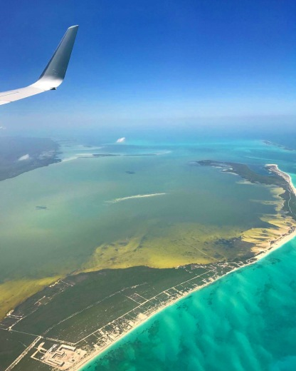 arriving to Cancun