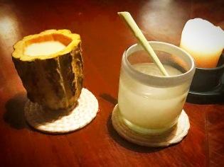 cocktail at Noma Mexico.