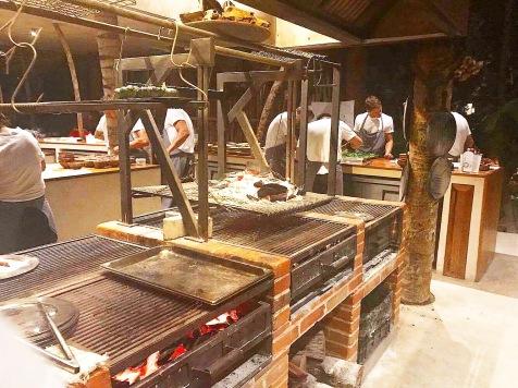 kitchen at Noma Mexico