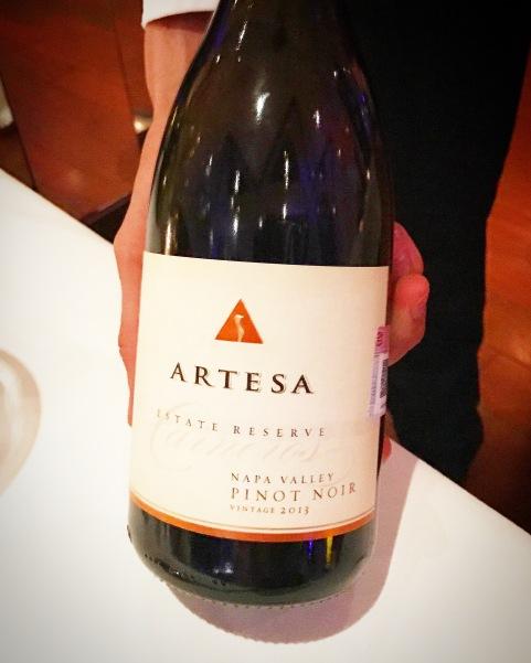 2013, Artesa, Pinot Noir, Napa Valley