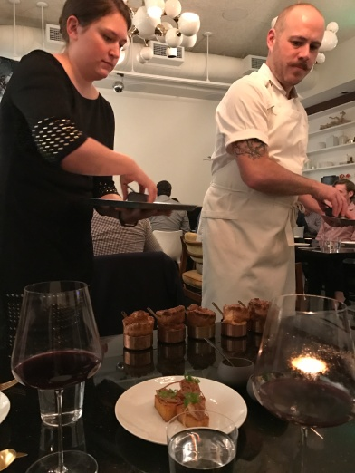 Plating of the main course