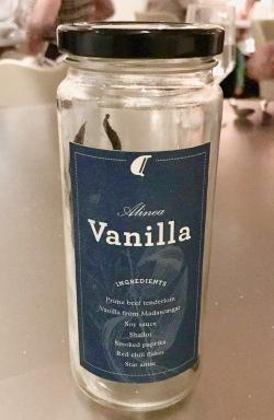 alinea's vanilla