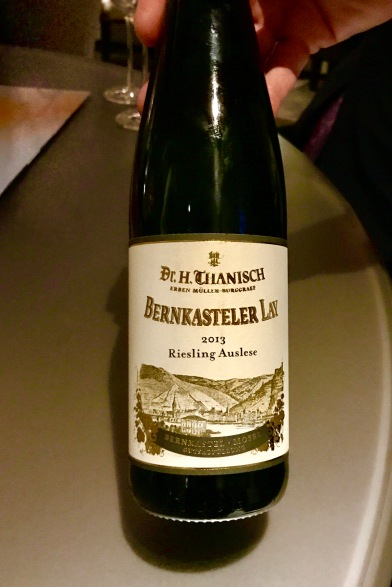 dr. h. tranisch, bernkasteler lay, riesling aisles, mosel, germany 2012