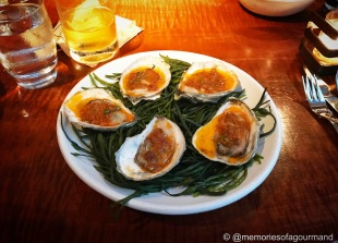 Roasted Island Creek Oysters