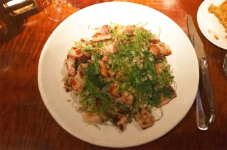 Pork Belly Fried Rice, Scallions, Pepper and Broccoli Rabe