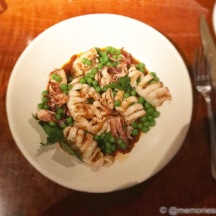 Grilled Calamari, Sweet Peas and Sofrito