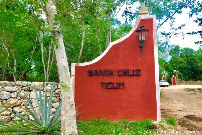 Hacienda Ticum was located 5 minutes away and was the perfect spot to spend the night
