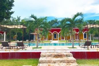 Hacienda Ticum paradise view