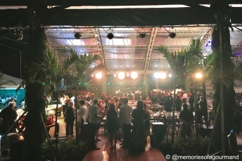 arriving to the main event where 200 guests experienced a unique culinary event