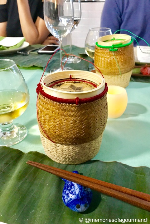 sticky rice container