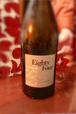 Eighty Four Albarinho, an independent project from the master minds behind Shafer: Elias Fernandez and Douglas Shafer. A limited production wins exploring new varietals in Napa.