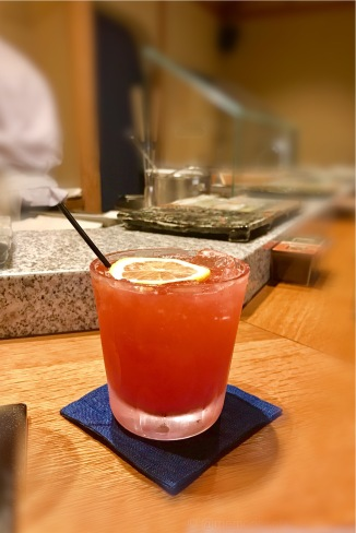watermelon and sake cocktail
