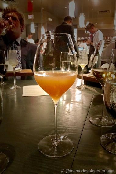 verjus blanc, lapsang souchang, pear juice, lychee