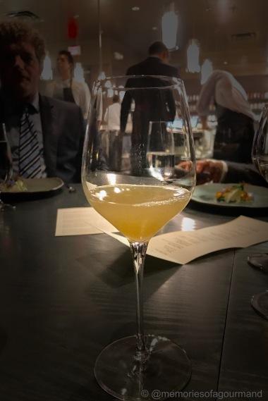 elephant garlic, ginger, bay leaf, white grape juice