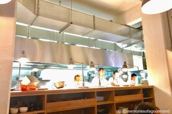 Lyle's open kitchen
