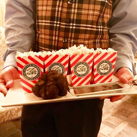 Pop Corn with Truffles at The Inn at Little Washington