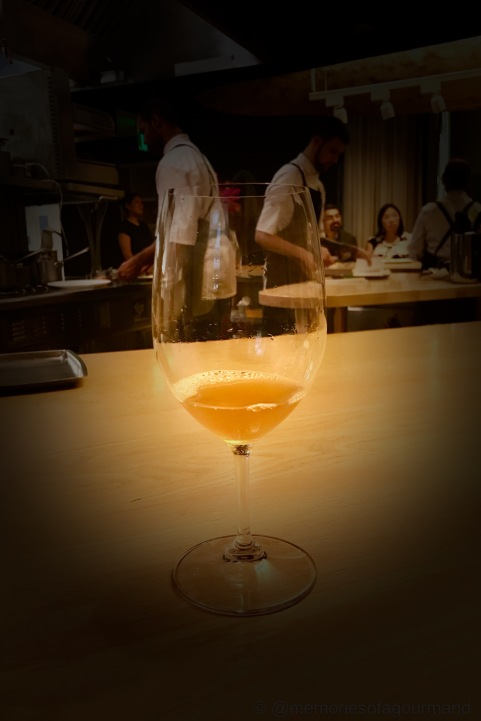 thai holunderblutensaft, pairing for the squab salmis
