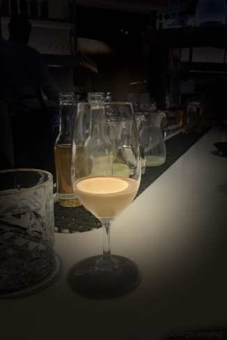 caramelized milk latte, pairing for the T-rex