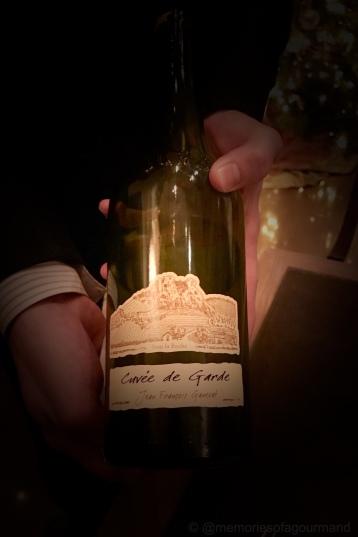Domaine Ganevat, Chardonnay/Savagnin, Cuvee de Garde, Cotes du Jura 2010