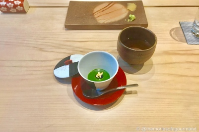 Green Tea Blancmange