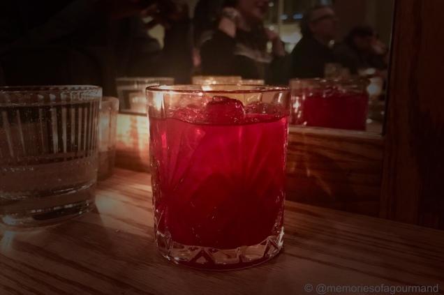 Hibiscus welcome beverage
