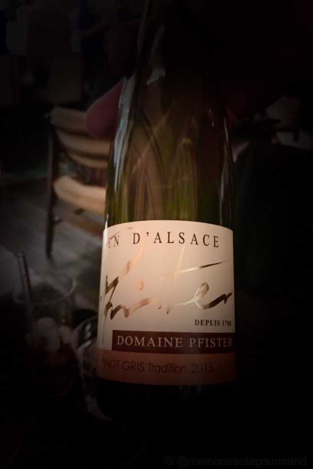 Pinot Girs,Domaine Pfister, Tradition, Alsace, France