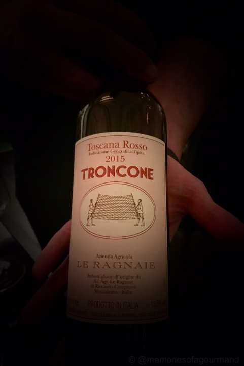 Rosso Toscana, Troncone, Le Ragnaie, Italy