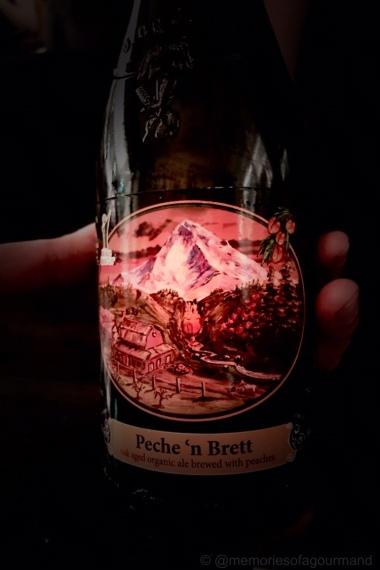 Peach Seizoen, Logsdon, Peche 'n Brett, Hood River, Oregon