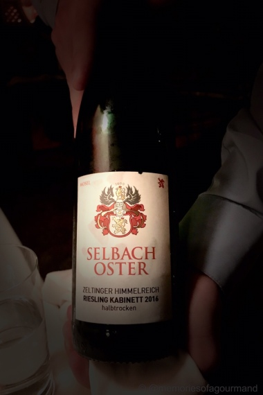 2016 Selbach Oster Riesling Kabinett